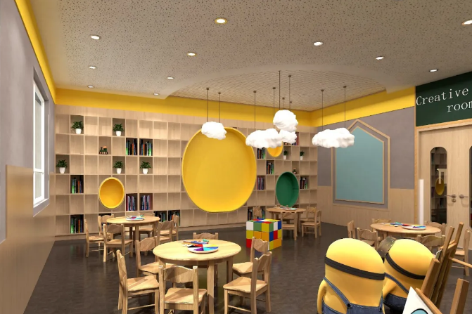 幼儿园装修方案及预算清单【亮点万利】北京幼儿园装修方案