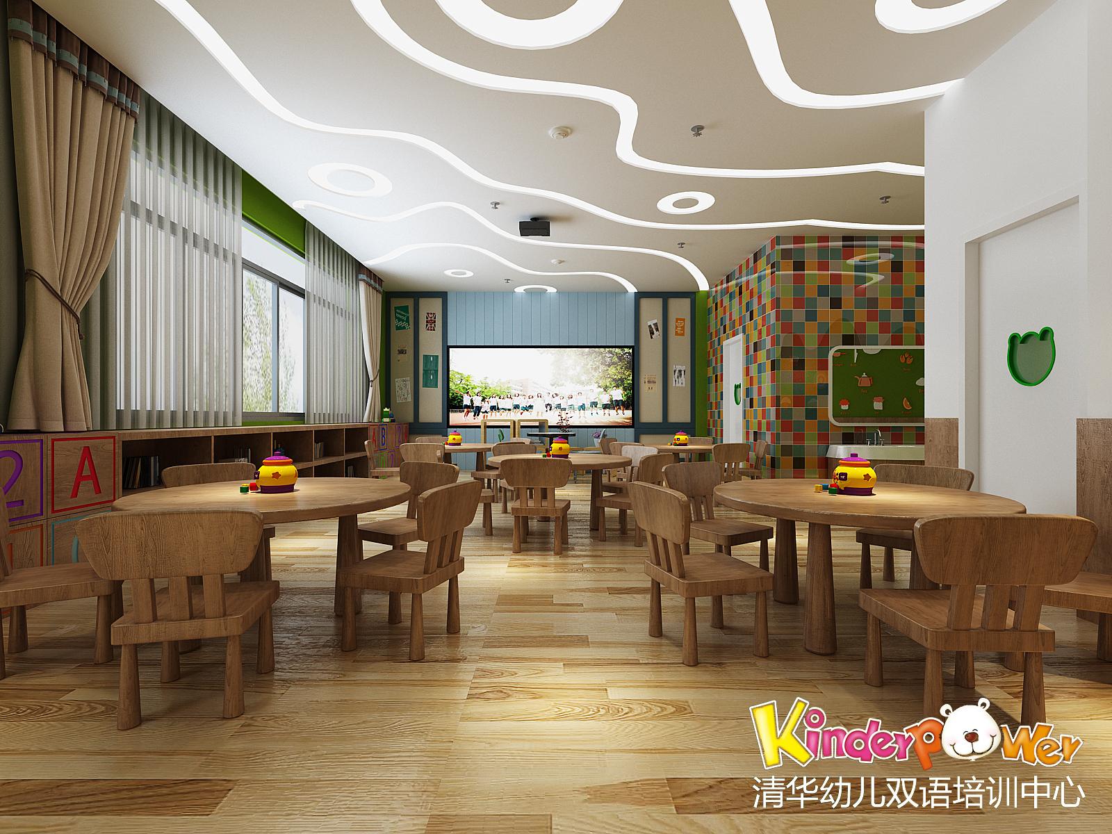 【亮点万利】山东滨州-清华幼儿园装修