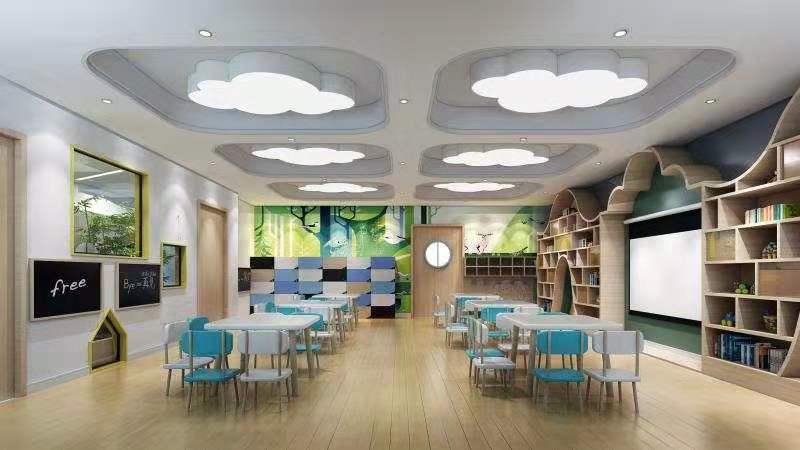 【亮点万利】河北廊坊-德莱幼儿园装修